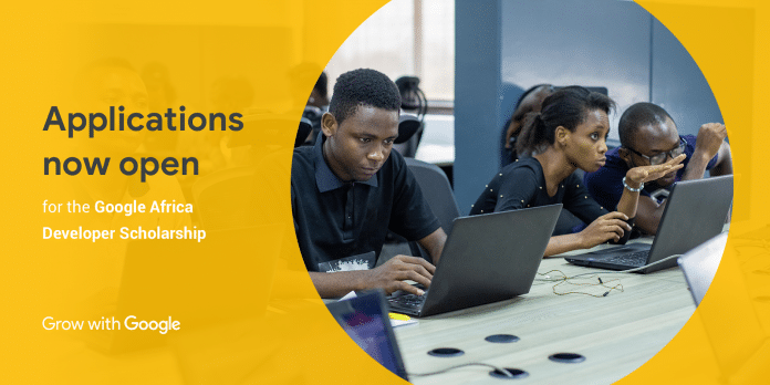 Google is offering 30000 scholarships through the Google Africa Certification programme